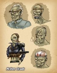 Персонажи: гули (Characters: ghouls)