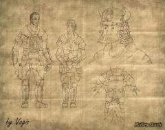 Персонажи. Новые Ханы (Characters. New Khans)